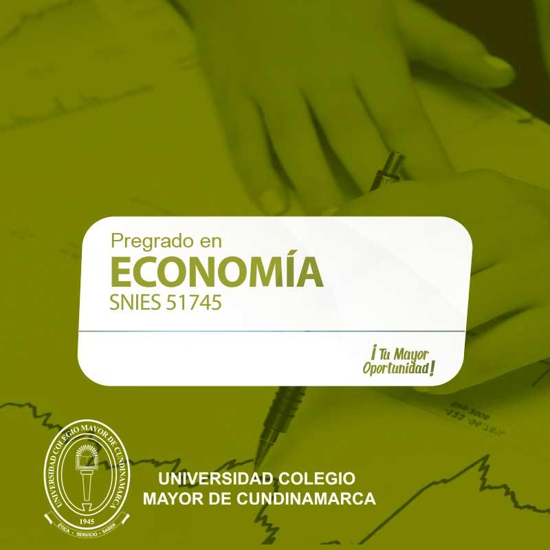 Economía - Universidad Colegio Mayor de Cundinamarca - UNICOLMAYOR