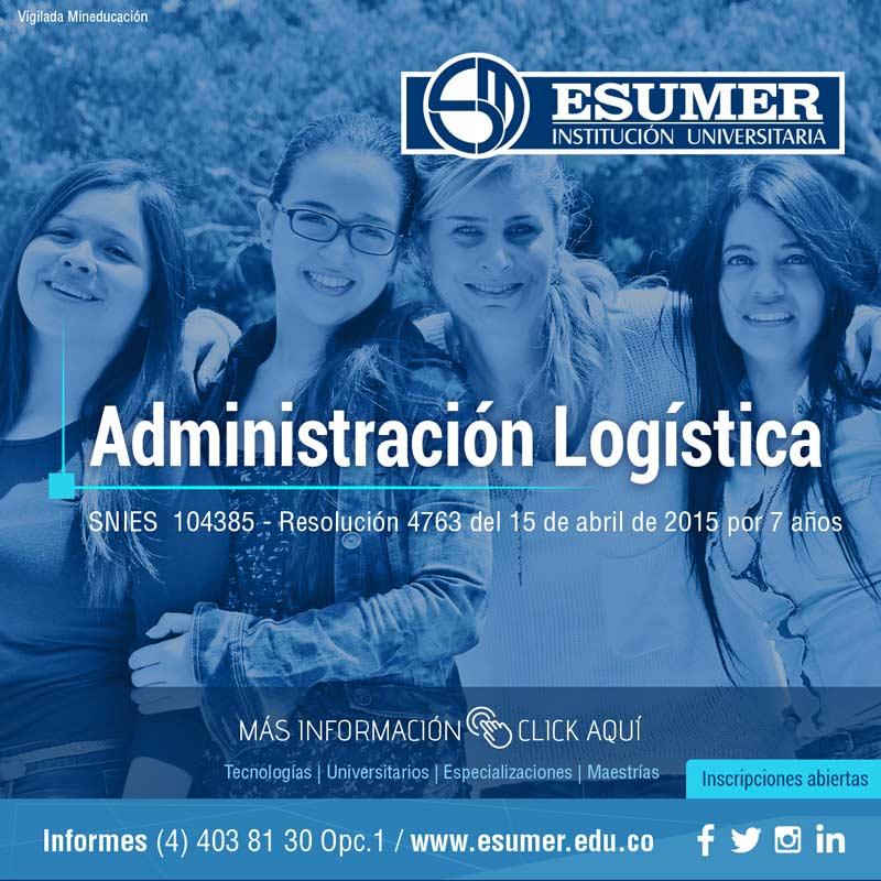 Administración logística - Institución Universitaria Esumer