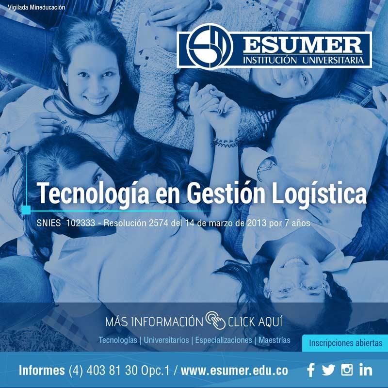 Tecnología en gestión logística - Institución Universitaria Esumer