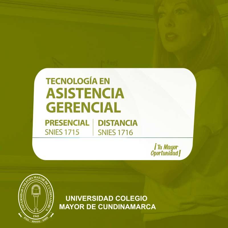 Asistencia Gerencial - Universidad Colegio Mayor de Cundinamarca