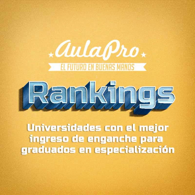 Rankings portada ingreso especialización