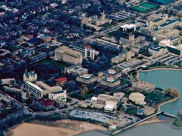 Campus Universidad de Northwestern USA