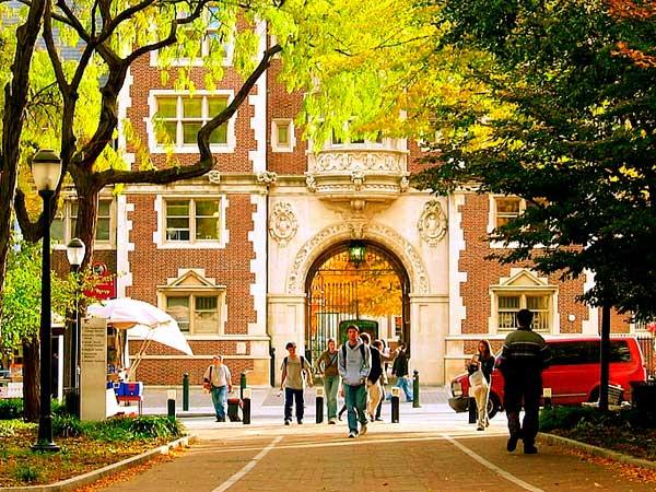 Campus Universidad de Pennsylvania USA