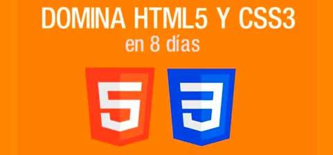 Domina HTML5 y CSS3 en 8 días