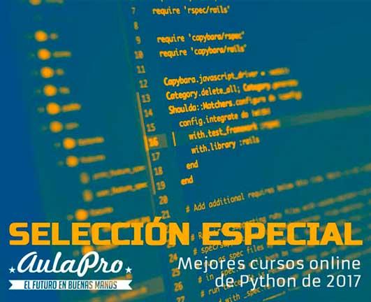Los Mejores Cursos online de programación en lenguaje Python 3