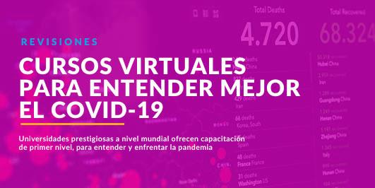 Cursos virtuales sobre Covid-19