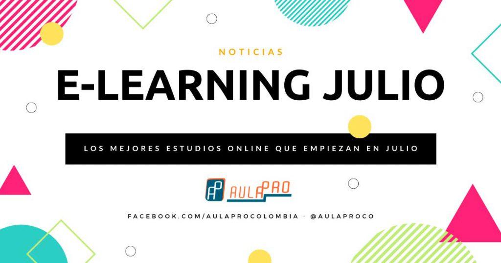 Cursos de e-learning que inician en Julio