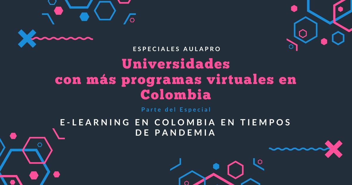 Universidades con más programas virtuales en Colombia